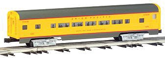 Bachmann 2-Car Passenger Add-On (60') - Union Pacific -- O Scale Model Train Passenger Car -- #43019