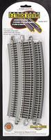 Bachmann 26 Radius Curve N/S (5) HO Scale Nickel Silver Model Train Track #44519