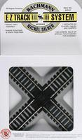 Bachmann 90 Degree Crossing N/S E-Z HO Scale Nickel Silver Model Train Track #44541