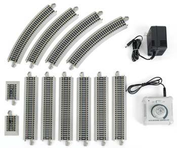 Bachmann E-Z Auto Reversing System N/S -- HO Scale Nickel Silver Model Train Track -- #44547