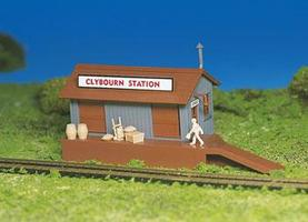 Bachmann Freight Station Kit HO Scale Model Railroad Building #45171