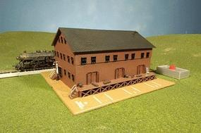 Bachmann Steam Whistle In Freight Station N Scale Model Railroad Building #46902