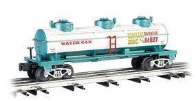 Bachmann WM Ringling Bros 3-Dome Water Tank Car #103 O Scale Model Train Freight Car #47120