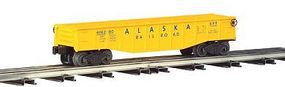 Bachmann Gondola with 6 Wooden Barrels - Alaska O Scale Model Train Freight Car #47201