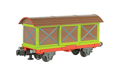 Bachmann WM Chuggington Box Car -- O Scale Model Train Freight Car -- #48001