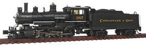 Bachmann Baldwin 4-6-0 DCC Equipped Chesapeake & Ohio #387 N Scale Model Train Steam Locomotive #51460