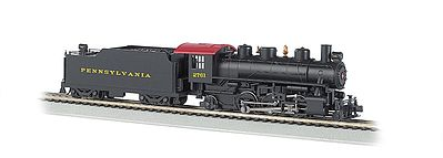 Bachmann Prairie 2-6-2 w/Smoke & Tender Pennsylvania #2761 -- HO Scale Model Train Steam Locomotive -- #51522