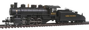 Bachmann USRA 0-6-0 Slope Tender New Haven #2333 HO Scale Model Train Steam Locomotive #51606
