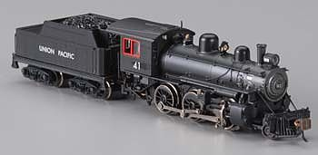 Bachmann Alco 2-6-0 Mogul w/DCC - Union Pacific #41 -- N Scale Model Train Steam Locomotive -- #51755