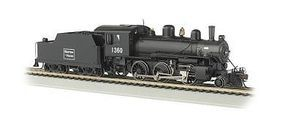 Bachmann Alco 2-6-0 DCC Sound Boston & Maine #1360 HO Scale Model Train Steam Locomotive #51811