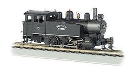 Bachmann 0-6-0 Porter Side Tank Midvale Steel #5 HO Scale Model Train Steam Locomotive #52102