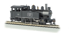 Bachmann 0-6-0 Porter Side Tank Midwest Quarry Mining #12 HO Scale Model Train Steam Locomotive #52103