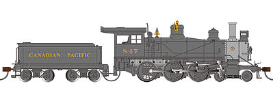 Bachmann Canadian Pacific 52'' Driver 4-6-0 DCC Ready #847 -- HO Scale Model Train Steam Locomotive -- #52203