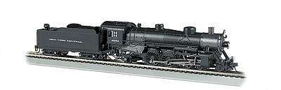Bachmann USRA Light Pacific 4-6-2 DCC NYC #4552 -- HO Scale Model Train Steam Locomotive -- #52802