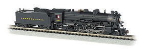 Bachmann K-4 4-6-2 with Sound Pennsylvania RR #1361 N Scale Model Train Diesel Locomotive #52851