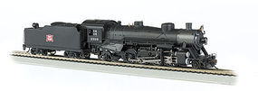 Bachmann USRA Light 2-8-2 Rock Island #2319 w/Med Tender HO Scale Model Train Steam Locomotive #54402