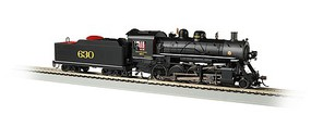 Bachmann 2-8-0 Consolidation - Sound and DCC - Sound Value Southern Railway 630 (black, graphite)