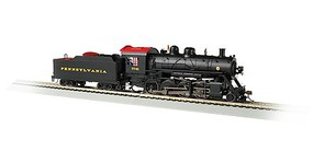 Bachmann 2-8-0 Consolidation - Sound and DCC - Sound Value Pennsylvania Railroad 7748 (black, Tuscan)