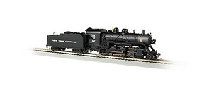 Bachmann 2-8-0 Consolidation - Sound and DCC - Sound Value New York Central 1137 (black, graphite)