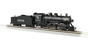 Bachmann 2-8-0 Consolidation - Sound and DCC - Sound Value Santa Fe 2508 (black, graphite)