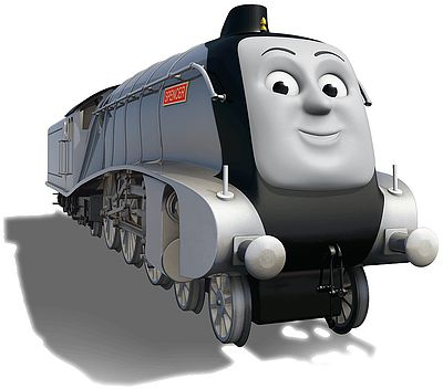 Thomas and friends spencer images for Shark tank motorized vehicle suit update