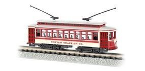 Bachmann Brill Trolley United Traction N Scale Model Train Electric Locomotive #61087