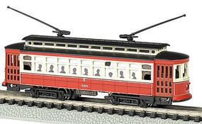 Bachmann Brill Trolley Chicago N Scale Model Railroad #61091