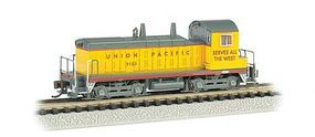 Bachmann EMD NW-2 Switcher w/DCC Union Pacific #1084 N Scale Model Train Diesel Locomotive #61651