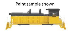 Bachmann EMD NW-2 Switcher Painted/Unlettered Yellow/Black N Scale Model Train Diesel Locomotive #61655
