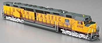Bachmann DD40AX Centennial Union Pacific #6900 -- HO Scale Model Train Diesel Locomotive -- #62105