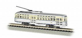 Bachmann PCC Trolly Philadelphia N Scale Model Train Street Car #62999