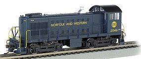 Bachmann Alco S4 DCC Ready Norfolk & Western #2046 HO Scale Model Train Diesel Locomotive #63108
