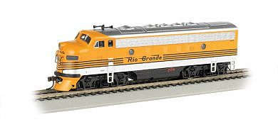 Bachmann F7 A DCC D&RGW -- HO Scale Model Train Diesel Locomotive -- #63707