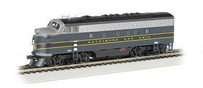 Bachmann F7 A Baltimore & Ohio HO Scale Model Train Diesel Locomotive #63709