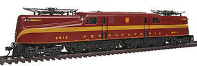 Bachmann GG-1 DCC Sound PRR 4913 Tuscan Red 5 Stripe N Scale Model Train Diesel Locomotive #65352