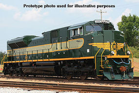 Bachmann SD70ACe Heritage Edition DCC Equipped Erie HO Scale Model Train Diesel Locomotive #66002