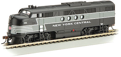 Bachmann FT-A E-Z APP Bluetooth New York Central #1600 -- HO Scale Model Train Diesel Locomotive -- #68902