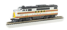 Bachmann FT-A E-Z APP Bluetooth Lackawanna #604 HO Scale Model Train Steam Locomotive #68903