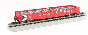 Bachmann 506 Gondola Canadian Pacific Rail #340215 HO Scale Model Train Freight Car #71907