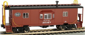 Bachmann HO Bay Window Caboose w/Roof Walk New York Central (New Tool)