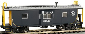 Bachmann HO Bay Window Caboose w/Roof Walk Baltimore & Ohio (New Tool)