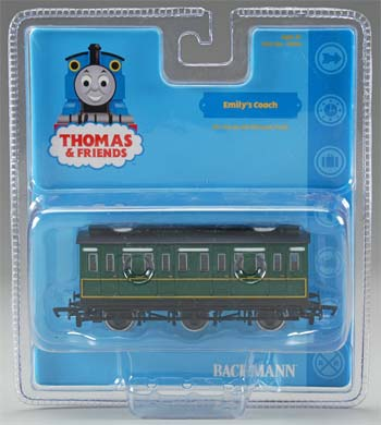 Bachmann Emily's Coach -- HO Scale Thomas-the-Tank Electric Car -- #76042