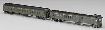 Bachmann Spectrum Doodlebug Coach Maryland & Penn #62 -- N Scale Model Train Passenger Car -- #81468
