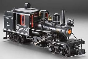 Bachmann 2-Truck Climax Manufacturing Co. #2 G Scale Model Train Steam Locomotive #85095