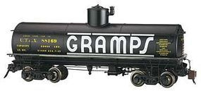 Bachmann Frameless Tank Car Gramps #88169 G Scale Model Train Freight Car #88494