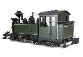 Bachmann 2-4-2T Steam Locomotive DCC Ready Painted, Unlettered G Scale #91199