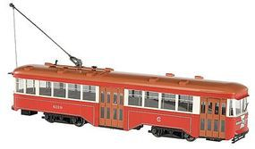 Bachmann Peter Witt Streetcar CSL with DCC G Scale Trolley and Hand Car #91704
