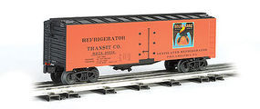 Bachmann Reefer Golden Eagle Oranges G Scale Model Train Freight Car #93203
