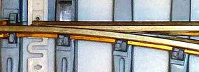 Bachmann #1100 Turnout Right Brass Track G Scale Model Train Track #94658