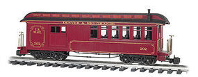 Bachmann Jackson Sharp w/Metal Wheels Combine D&RG G Scale Model Train Passenger Car #97106